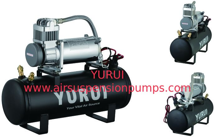 OEM Durable Black Silver Remote Air Compressor Tank Anti Dust And Explosion Proof